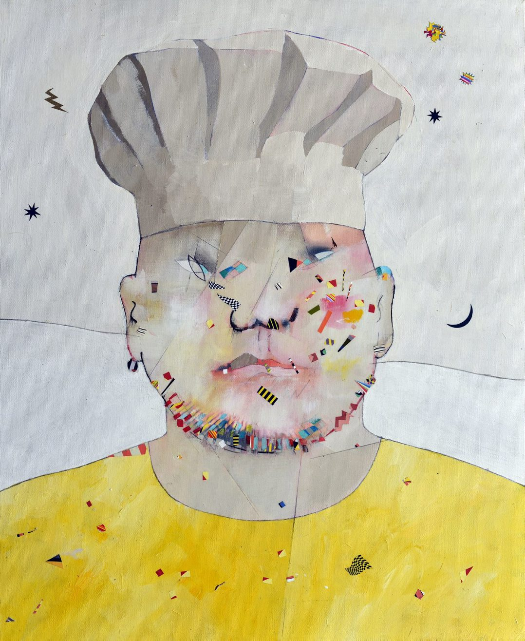 The cook of Queen Lucretia, 60x50, 2012