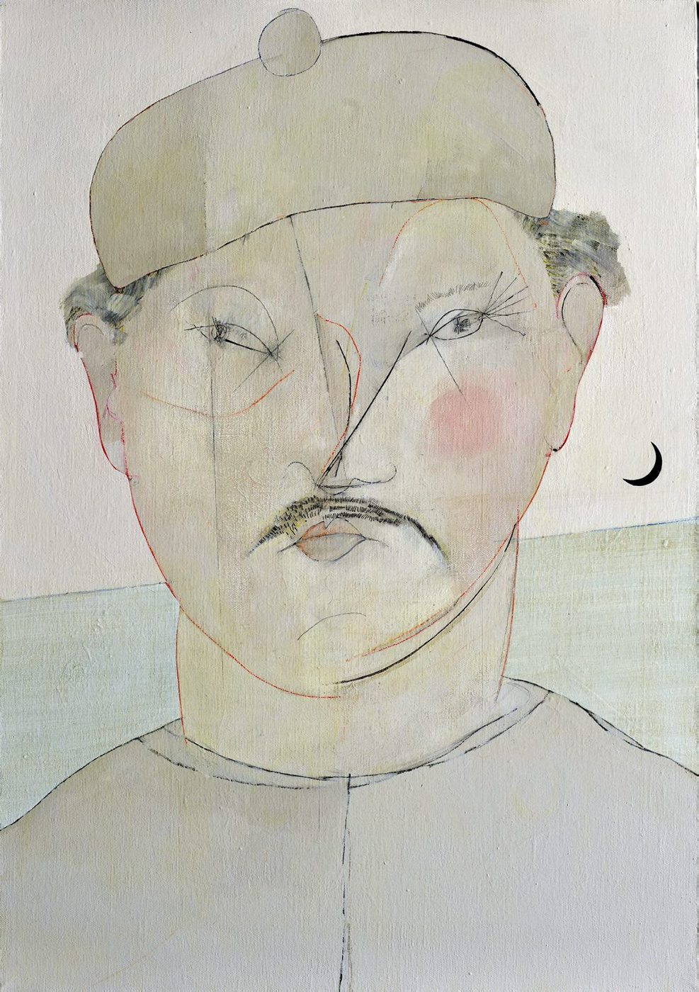 The merchant of Kaohsiung, 50x70, 2011
