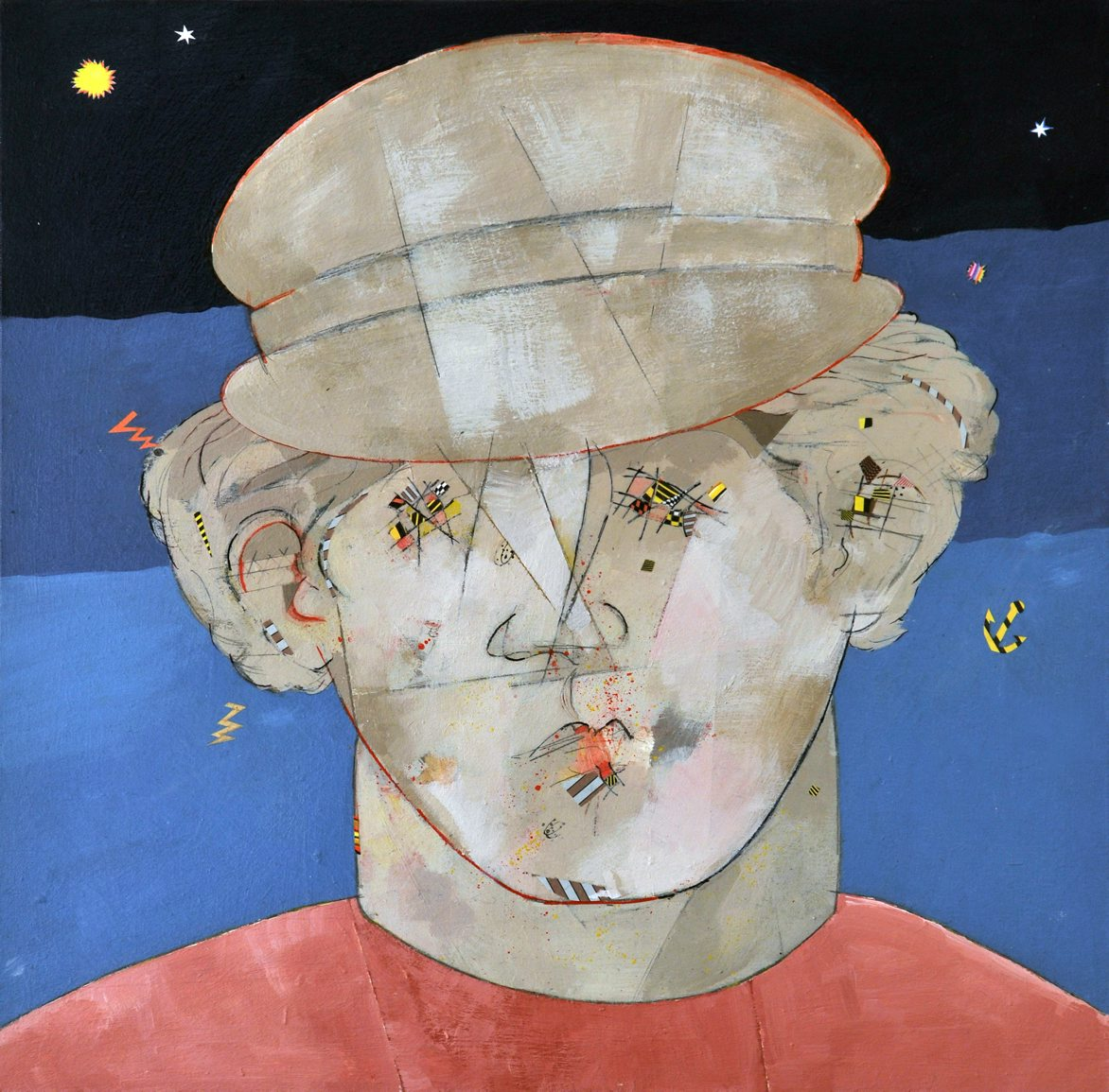 The third officer of Queen Lucretia, 50x50, 2010